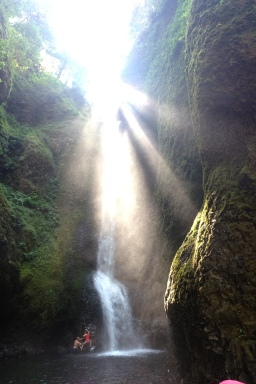 Oneonta Gorge Waterfall Hike